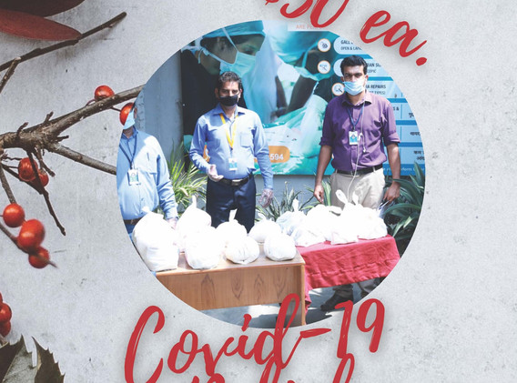 Covid-19 Relief 30 ea.