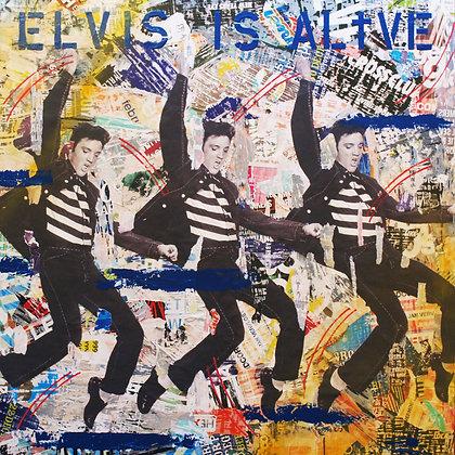 Elvis is alive..