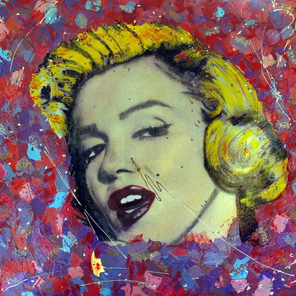 Marilyn's look.