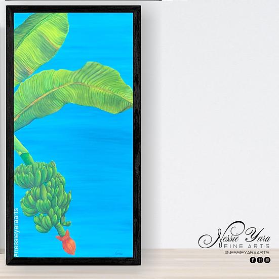Platanos - original by Nessie Yara - 15x30