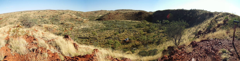 Day Trip - Hickman Crater / Punda