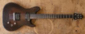 Luthier Magasin musique Troyes cordes guitares basses instuments violon artisan Aube france romilly nogent Provins paris Sezanne fait main bois sapelli ebene seymour duncan