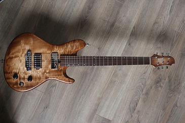 Luthier Troyes Paris reims guitare aube France Scelerate bois Peuplier Gotoh Hipshot artisan magasin musique