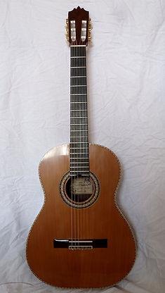 Luthier Aube Mathieu Penet Guitare classique