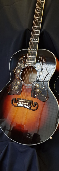 Guitare Jumbo Luthier Mathieu Penet