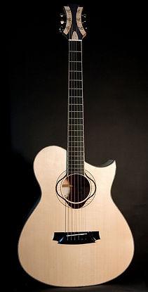 Luthier Aube Mathieu Penet Guitare Folk corde acier Champagne Ardenne