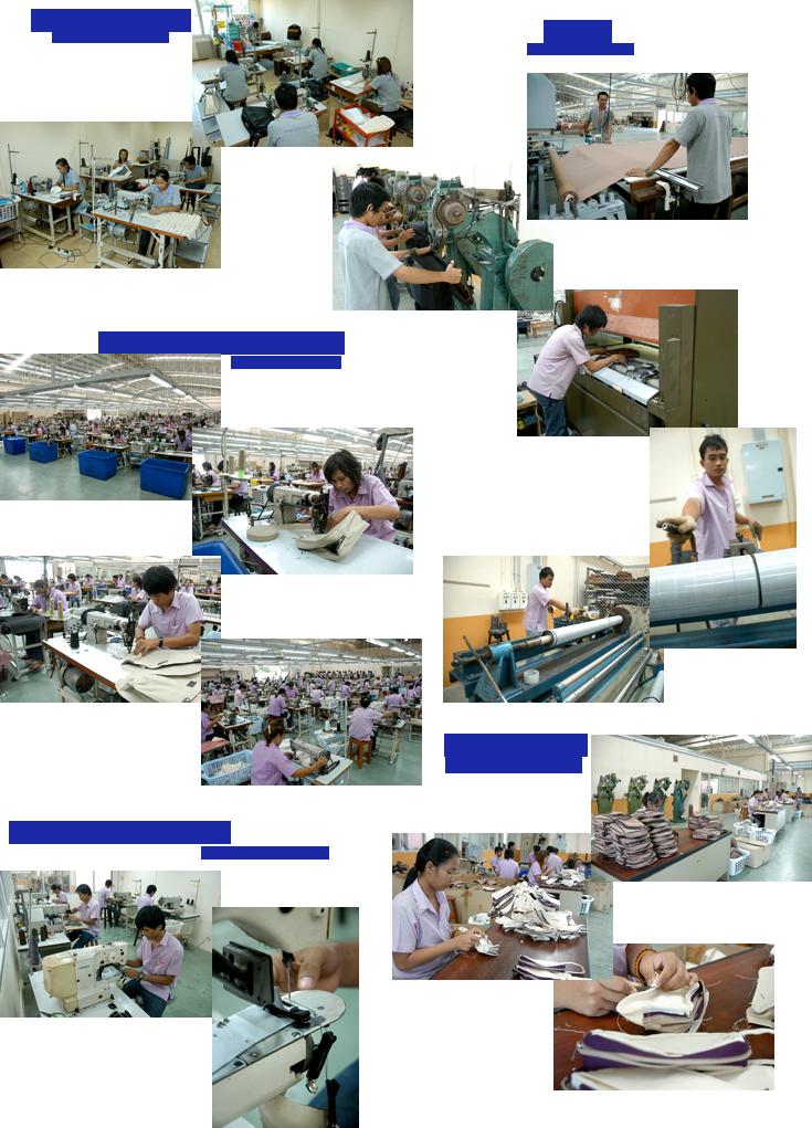 การผลิตกระเป๋า, ผลิตกระเป๋า, ขั้นตอนการผลิตกระเป๋า