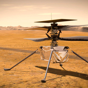 Nasa's Mars helicopter completes first controlled flight