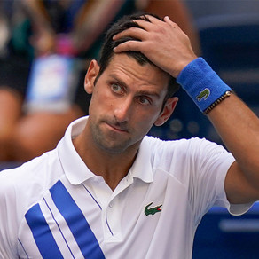 Novak Djokovic disqualified after hitting ball at line judge in US Open