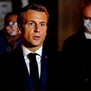 France's Macron calls Paris beheading 'Islamist terrorist attack'