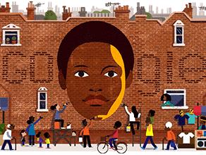 Community activist Olive Morris celebrated by Google