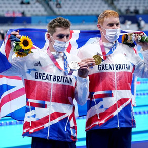 Tokyo: Tom Dean takes gold & Duncan Scott silver for GB in 200m freestyle