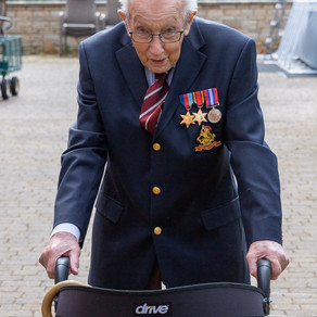 Captain Tom Moore raises £8m for NHS as he approaches his 100th birthday