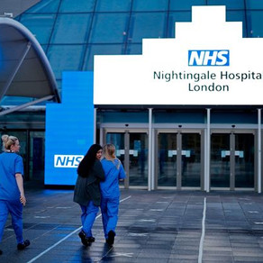 Nightingale Hospital in London placed on standby after treating less than 100 patients