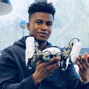 Youngest tech entrepreneur becomes the highest paid robotic engineer in the world