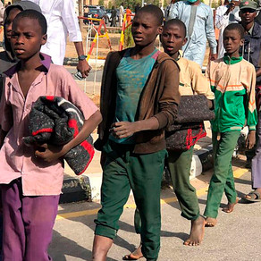 Group of 344 kidnapped Nigerian schoolboys handed to government