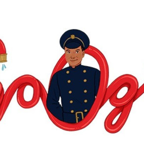 London's first black firefighter Frank Bailey, honoured in Google Doodle
