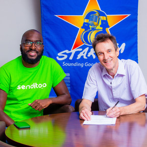 Senditoo partners with Star FM for 'major' takeover