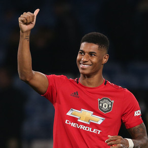 Man United player Marcus Rashford awarded MBE for services to children