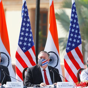 US and India strengthen relations with 2+2 defence deal