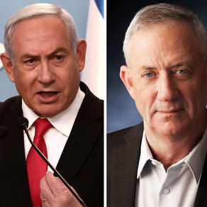 Israel's Netanyahu and Gantz end year-long conflict,agree to form coalition