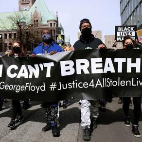 George Floyd:Derek Chauvin trial begins as jurors watch his final moments