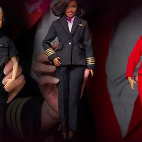 Virgin Atlantic promotes STEM careers by creating three 'working' barbies