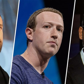 Facebook, Twitter and Google bosses face questions over legal protections for social media