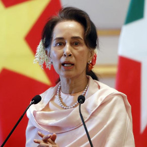 Aung San Suu Kyi appears before Hague tribunal to defend accusations of genocide