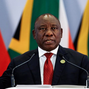 South Africa's president orders 21-day lockdown to combat coronavirus