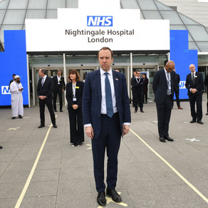 Nightingale Hospital opens at London's ExCel centre after 10-day turnaround
