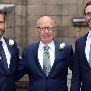 James Murdoch quits News Corp Board amid editorial rift