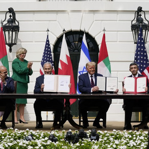 Israel, UAE and Bahrain sign historic normalisation deals in the US