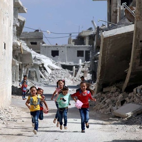 Displaced children in Syria and abroad want life away from war-torn country, report says