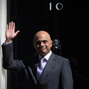 Not seeing eye to eye: Sajid Javid bids farewell as chancellor after disagreements with No.10