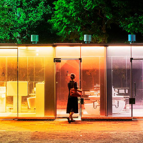 A different kind of loo: Tokyo installs transparent public toilets