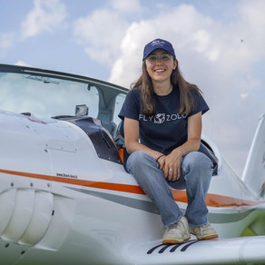 Teenage pilot Zara Rutherford hopes to be the youngest woman to fly solo around the world