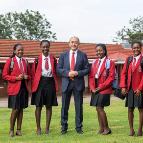 All boys college in Zimbabwe enrols girls for the first time in its 124-year history