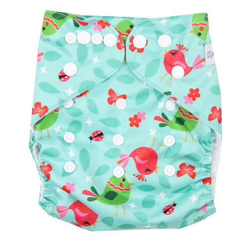 """""""Birdies"""" Pocket Diaper"""