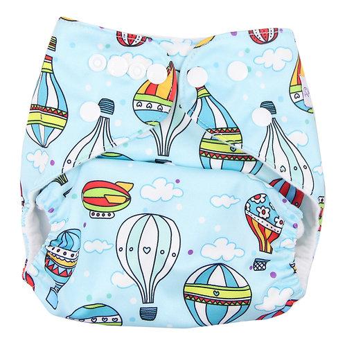 """""""Airships"""" Pocket Diaper"""