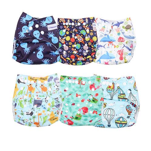 12-Pc Pocket Diaper Starter Kit