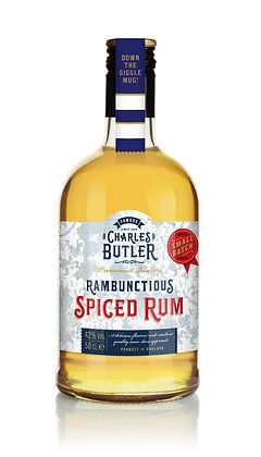 Charles Butler's Rambunctious Spiced Rum 50cl
