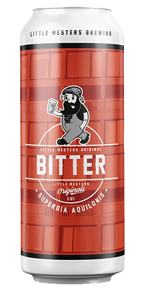 Large Case of Little Mesters Original Bitter 12x440ml Can