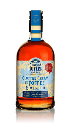 Charles Butler Clotted Cream Toffee Rum Liqueur 50cl
