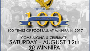 Minnipa Football Club Celebrates 100 Years