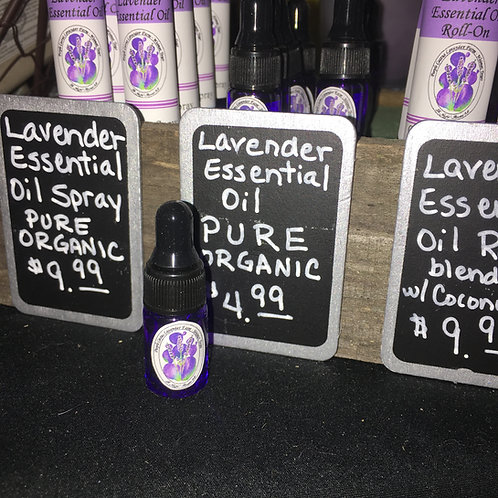 Lavender Essential Oil Dropper