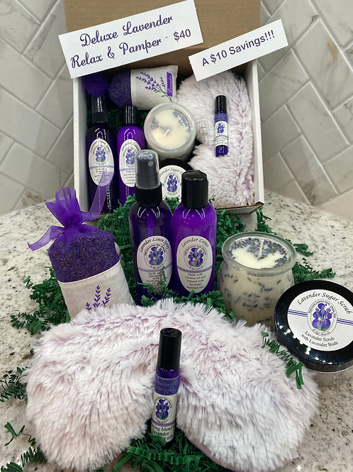 Deluxe Lavender Relax & Pamper Set