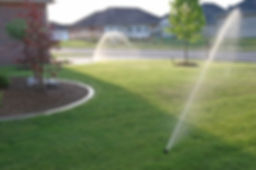 Lawn sprinklers, residential and commercial