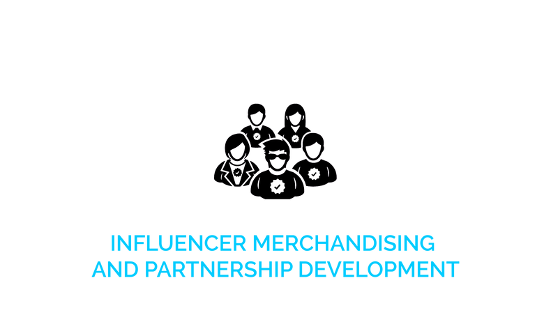 Influencer Merchandising and Partnership