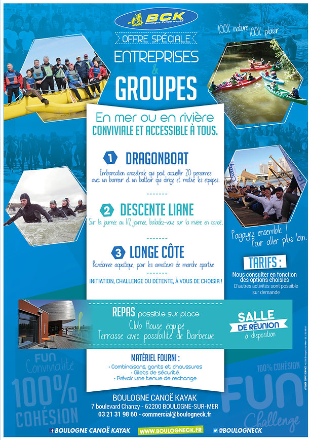 Offre Groupes